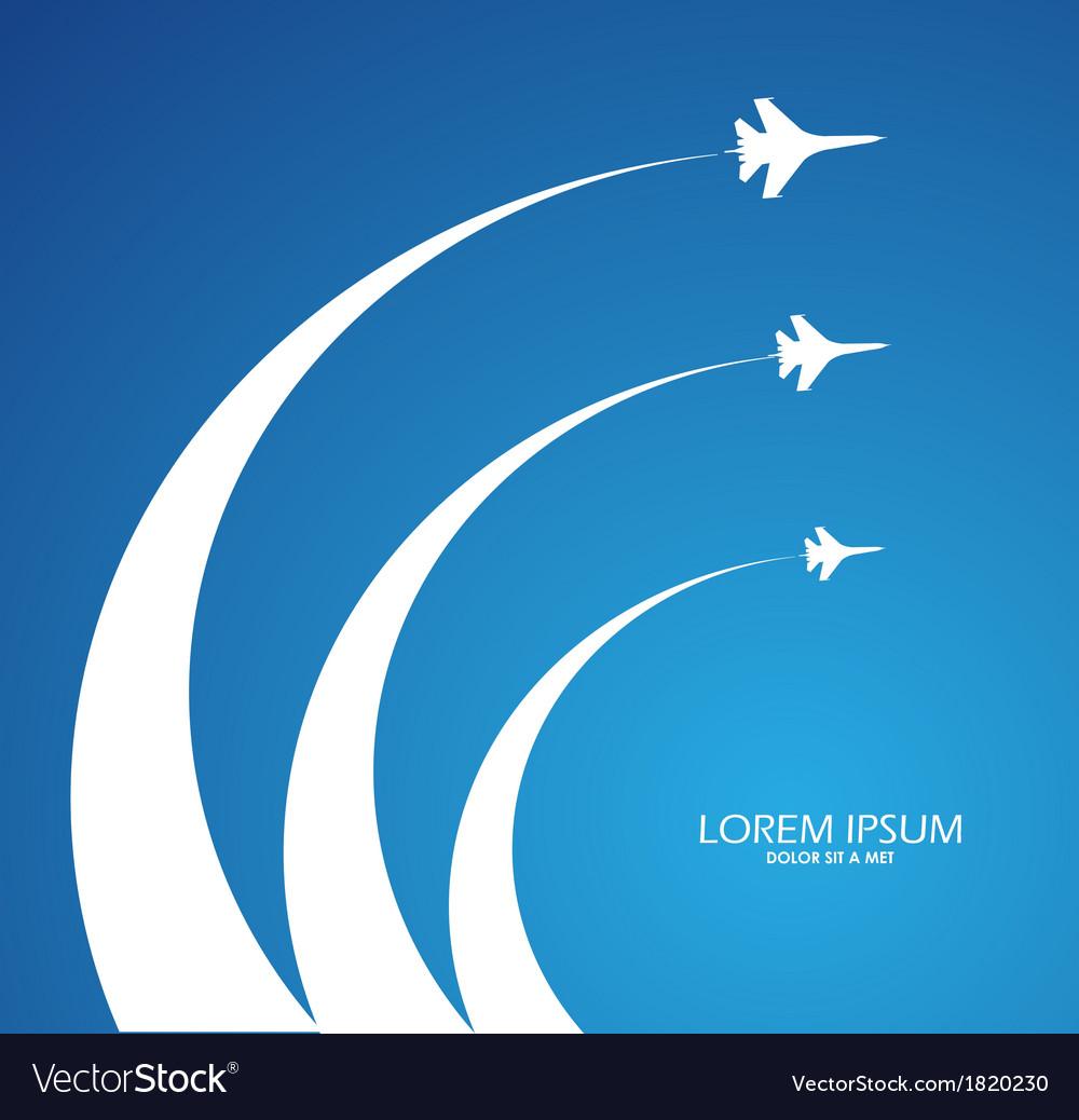 Air flight vector | Price: 1 Credit (USD $1)
