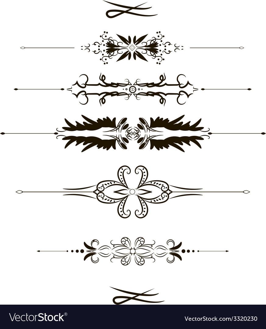 Ornaments vector | Price: 1 Credit (USD $1)
