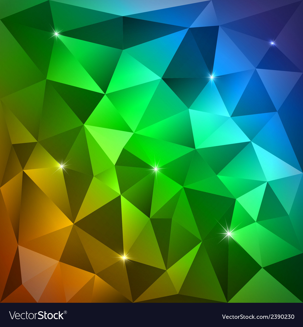 Rainbow triangles vector | Price: 1 Credit (USD $1)