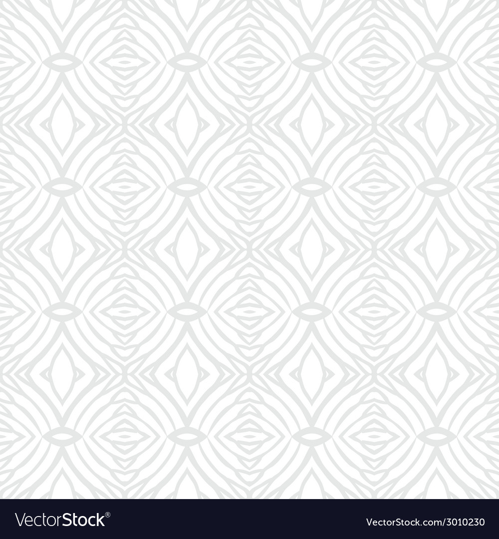 White vintage geometric texture in art deco style vector | Price: 1 Credit (USD $1)