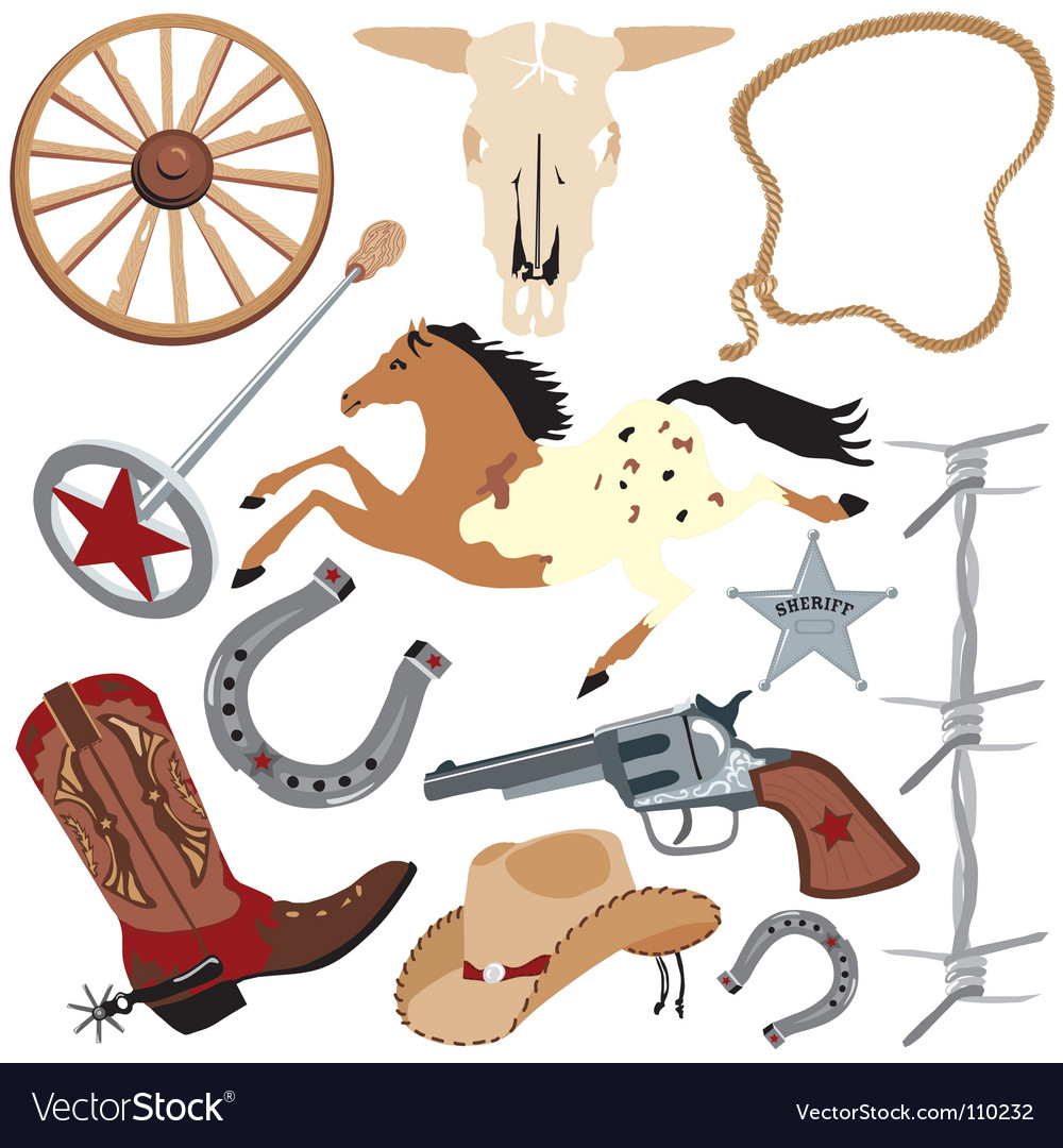 Cowboy vector | Price: 3 Credit (USD $3)
