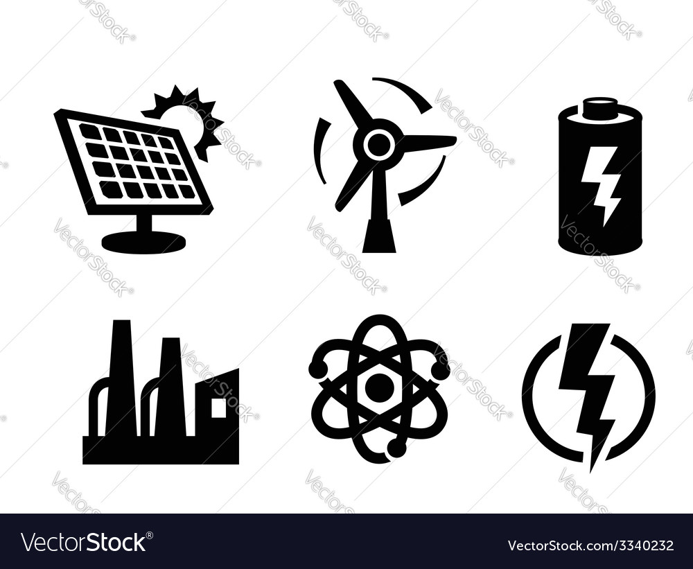 Solar panel icon vector | Price: 1 Credit (USD $1)
