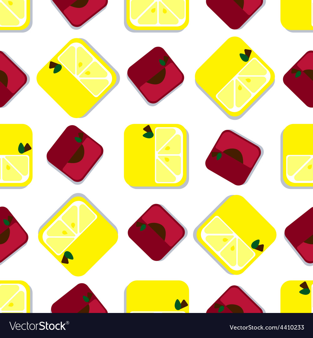 Colored fruits and berries vector | Price: 1 Credit (USD $1)