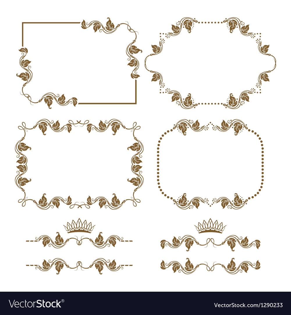 Decorative frame vector | Price: 1 Credit (USD $1)
