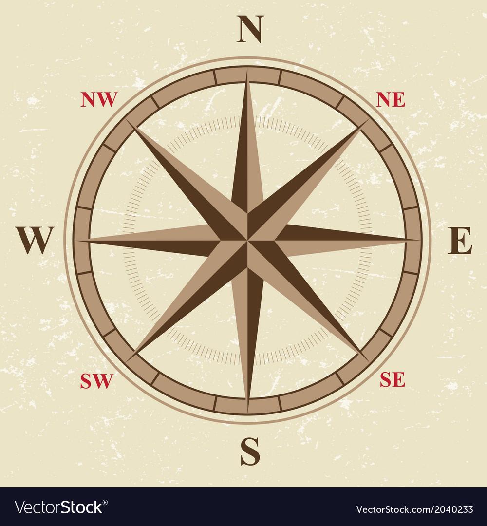 Flat compass vector   Price: 1 Credit (USD $1)