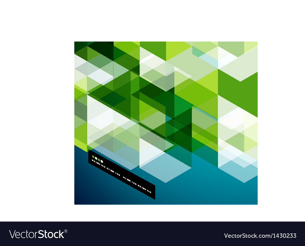 Modern geometrical abstract template vector | Price: 1 Credit (USD $1)