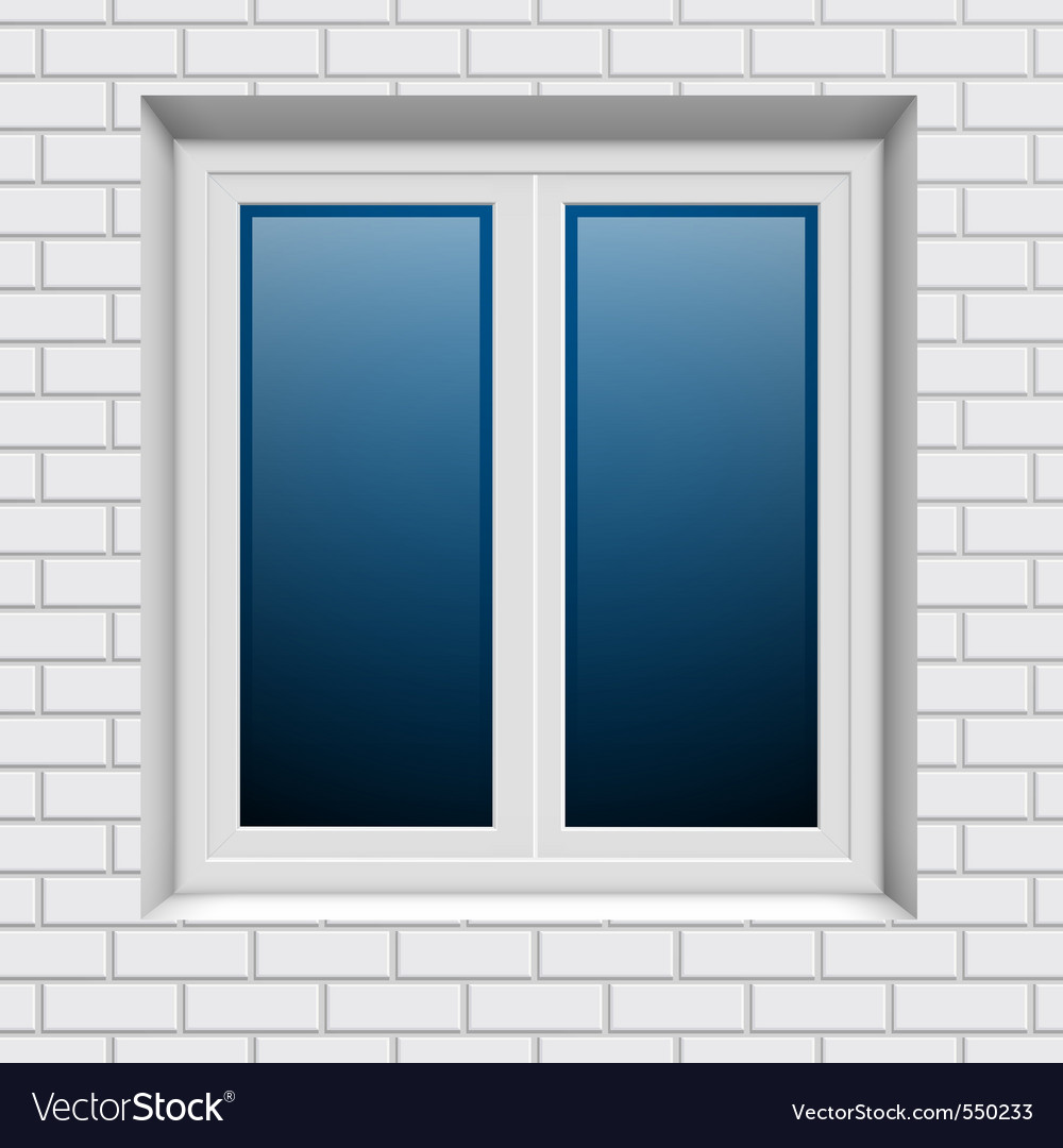 Plastic window vector | Price: 1 Credit (USD $1)