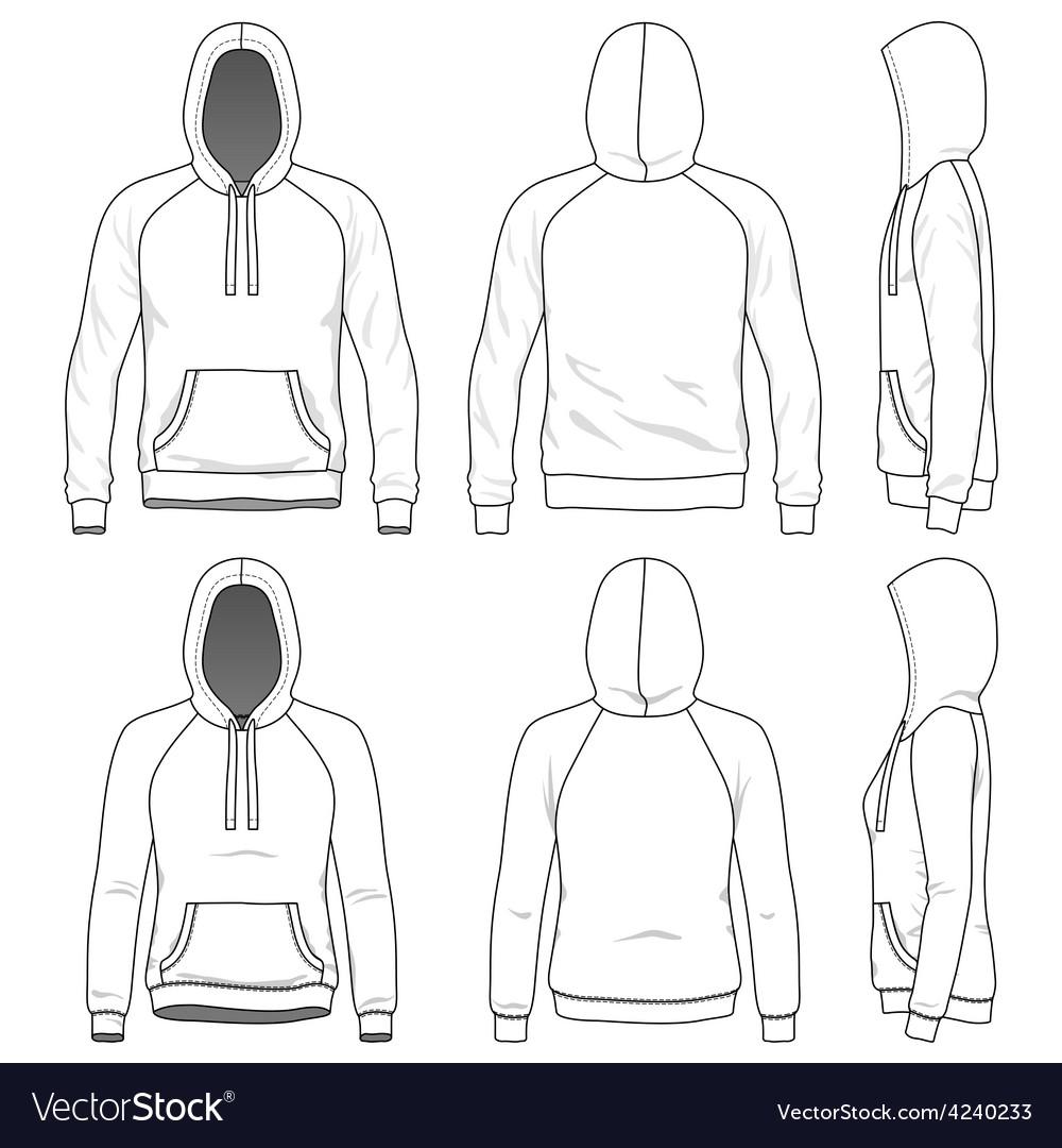 Raglan hoodie vector | Price: 1 Credit (USD $1)