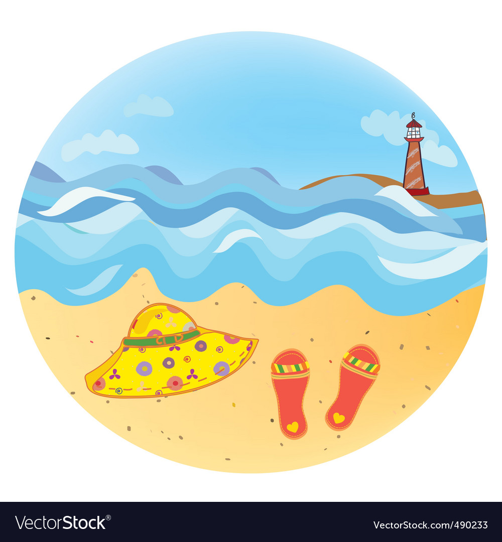 Sea round vector | Price: 1 Credit (USD $1)