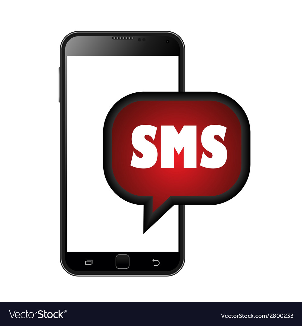 Smart phone sms icons vector | Price: 1 Credit (USD $1)