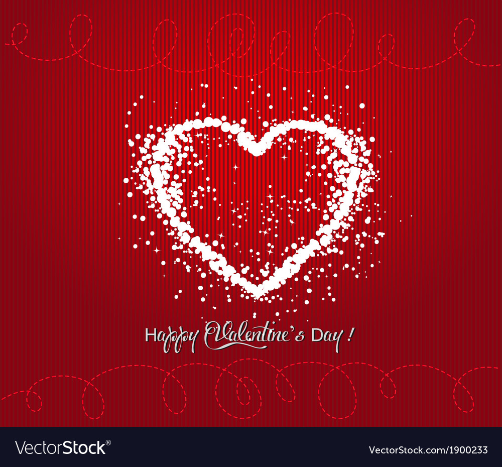 Valentines day design vector | Price: 1 Credit (USD $1)