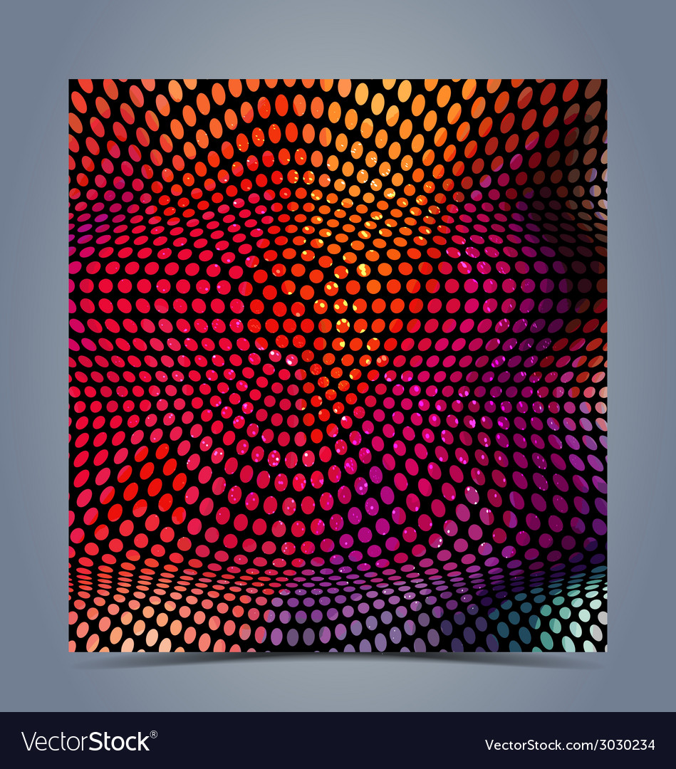 Abstract halftone colorful background vector | Price: 1 Credit (USD $1)