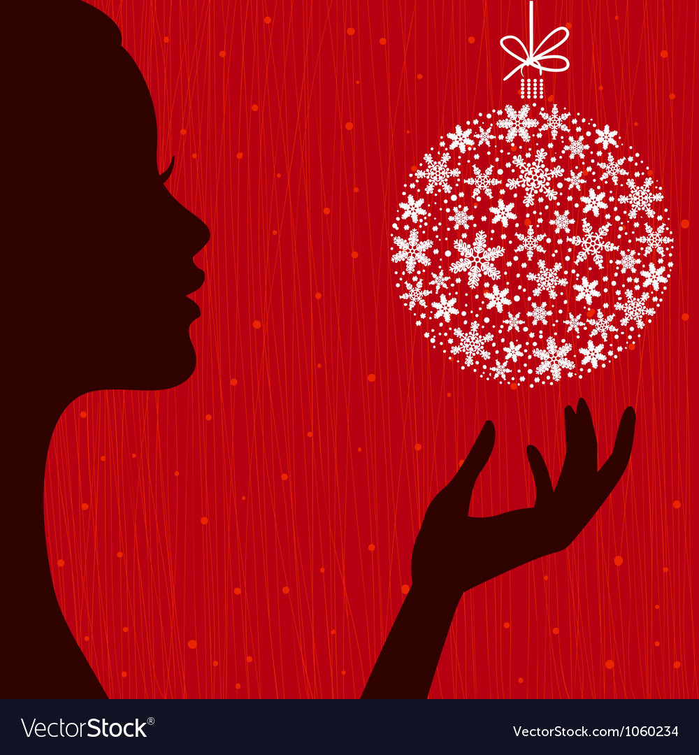 Christmas eve background vector | Price: 1 Credit (USD $1)