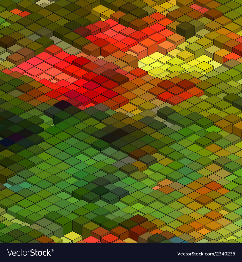 Abstract 3d colorful mosaic background eps8 vector   Price: 1 Credit (USD $1)