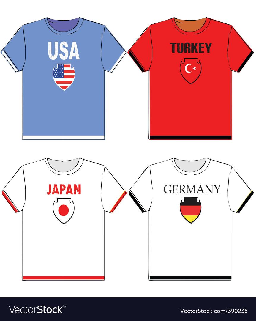 Football t-shirts vector   Price: 1 Credit (USD $1)