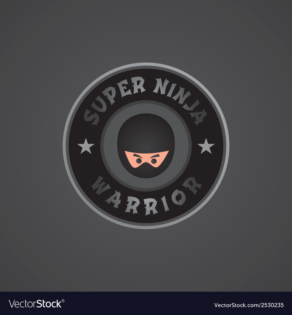 Ninja background vector | Price: 1 Credit (USD $1)