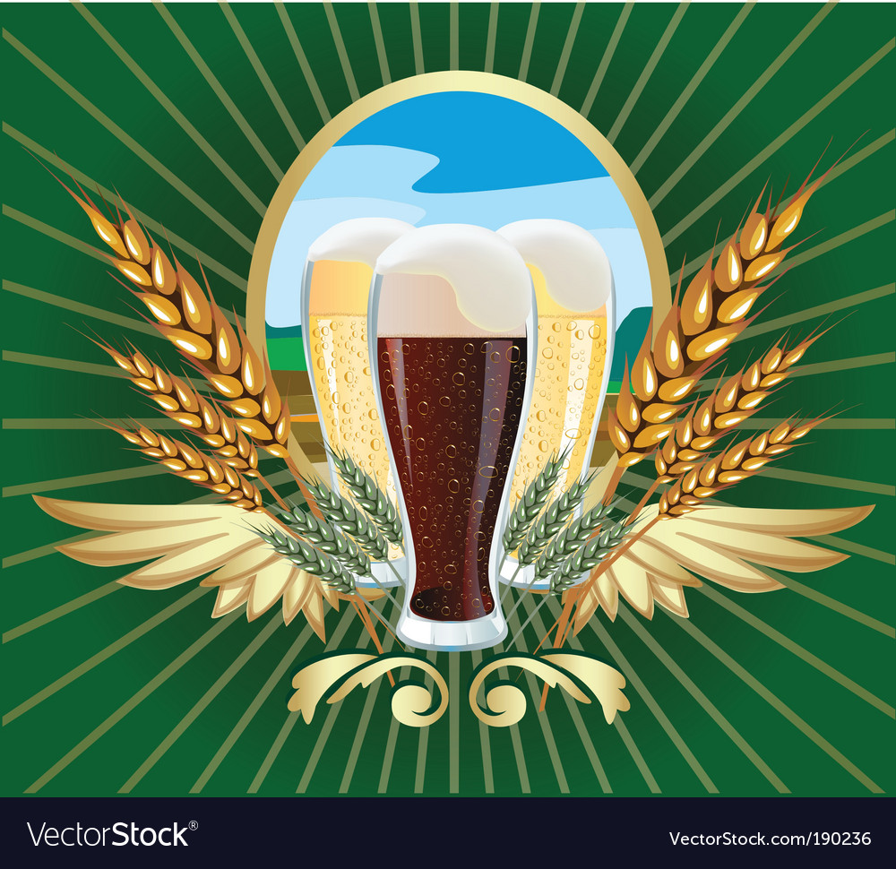 Beer label vector | Price: 3 Credit (USD $3)