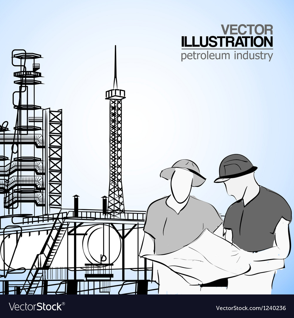 Industrial engineers vector | Price: 1 Credit (USD $1)