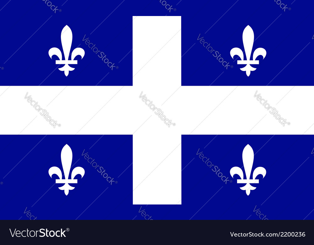 Quebec vector | Price: 1 Credit (USD $1)