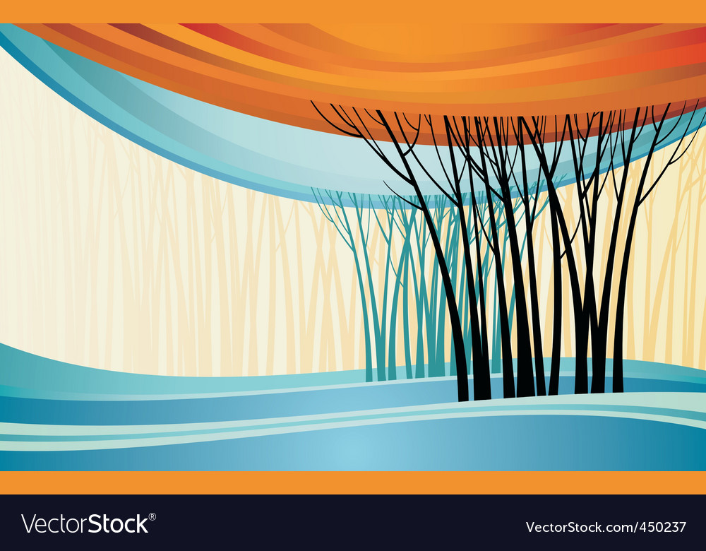 Nature theme background vector | Price: 1 Credit (USD $1)
