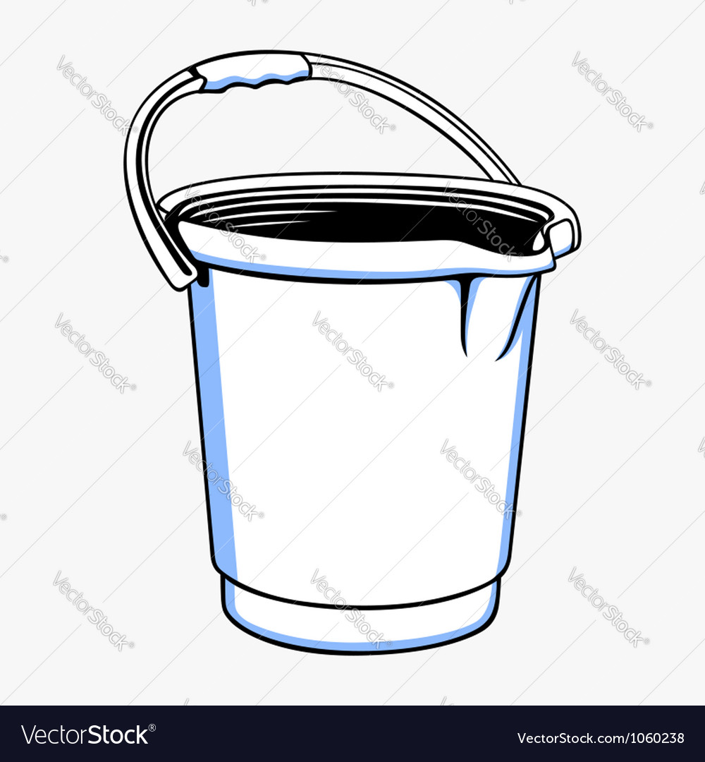 Bucket vector | Price: 1 Credit (USD $1)