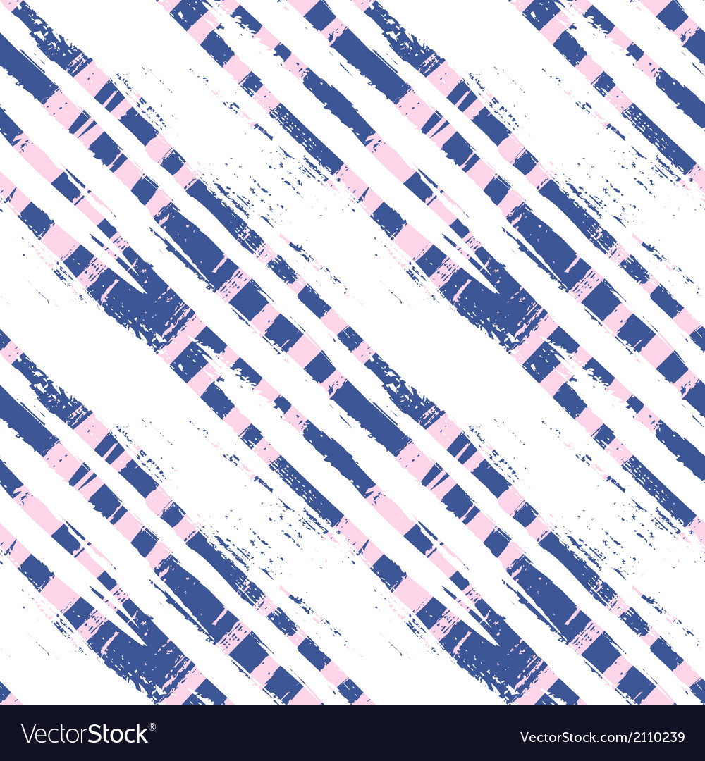 Plaid pattern with wide brushstrokes and stripes vector | Price: 1 Credit (USD $1)