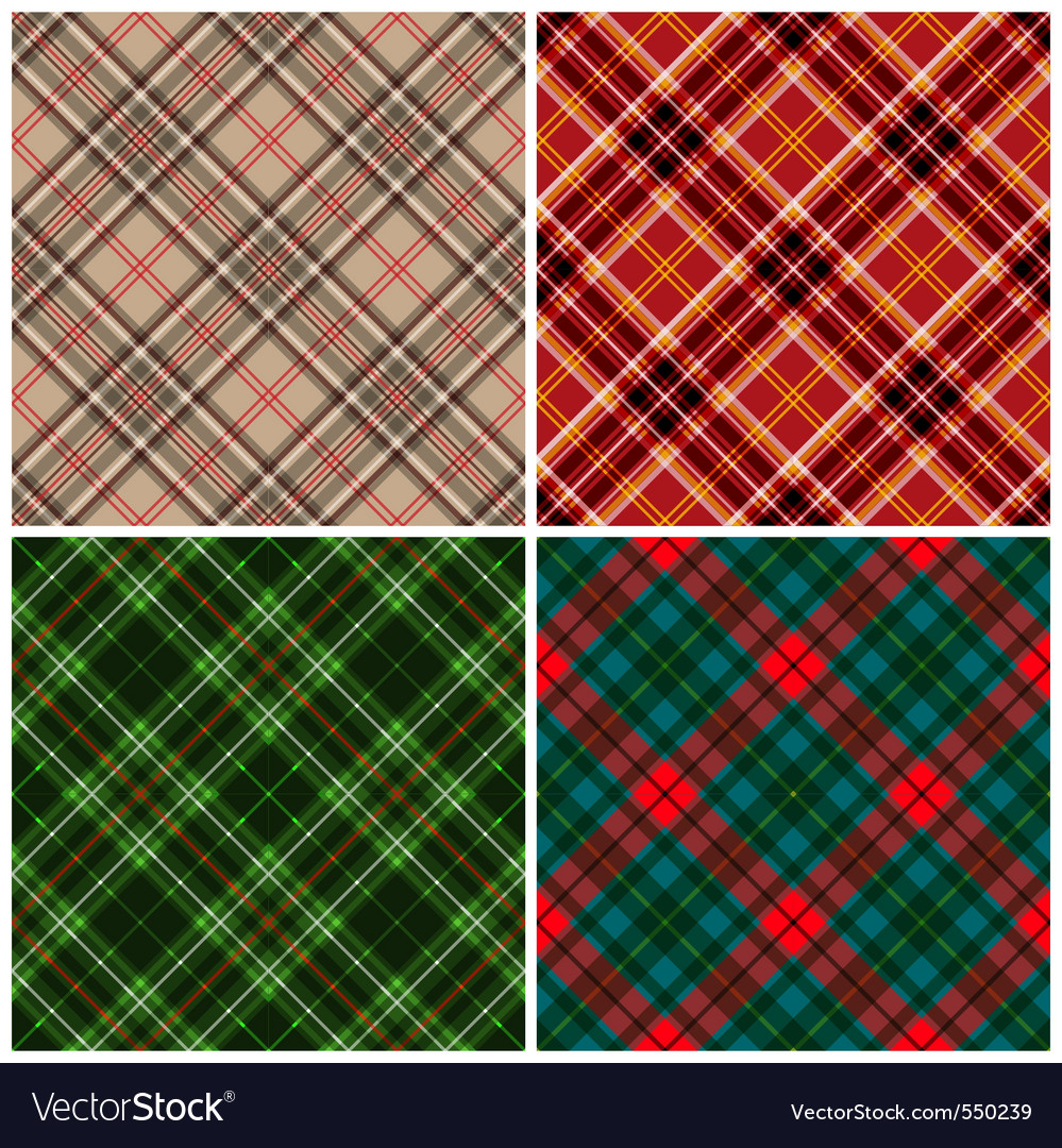 Tartan seamless vector | Price: 1 Credit (USD $1)