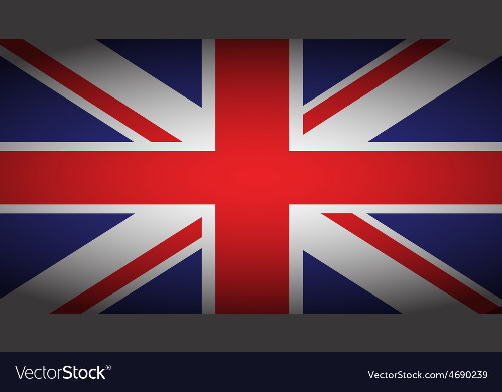 Uk faded flag vector | Price: 1 Credit (USD $1)