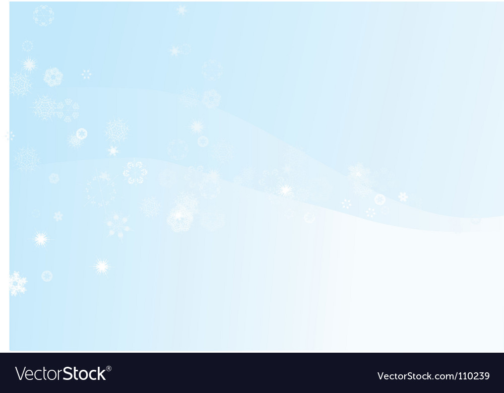 Winter snowflake background vector | Price: 1 Credit (USD $1)