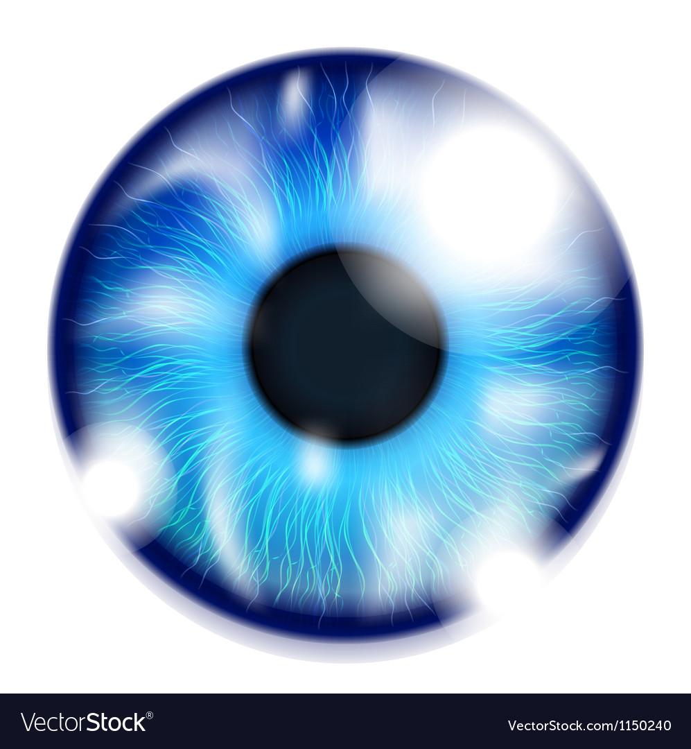 Blue eye vector   Price: 1 Credit (USD $1)