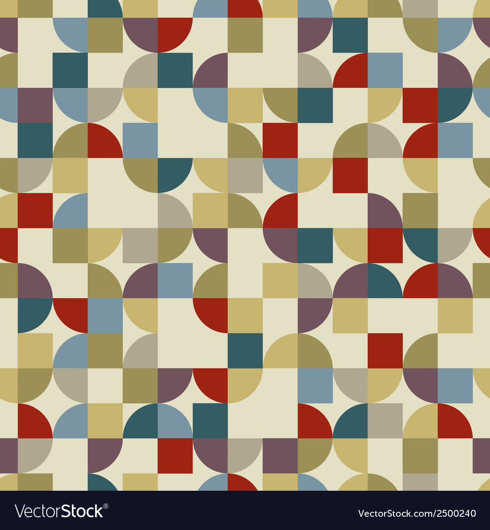 Colorful geometric background squared pockmarked vector | Price: 1 Credit (USD $1)