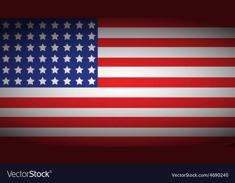 Usa faded flag vector | Price: 1 Credit (USD $1)