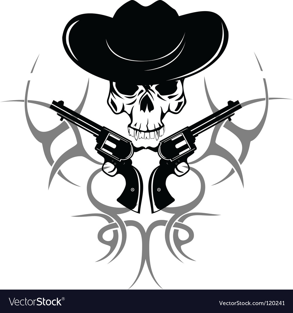 Cowboy vector | Price:  Credit (USD $)