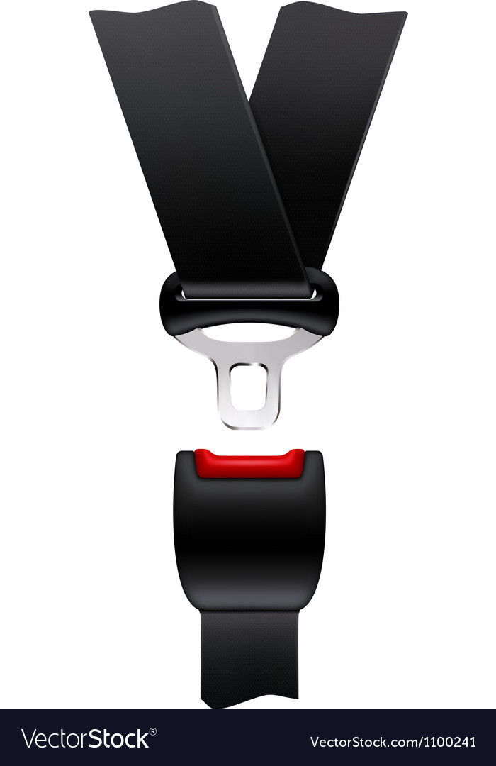 Safety belt vector | Price: 1 Credit (USD $1)