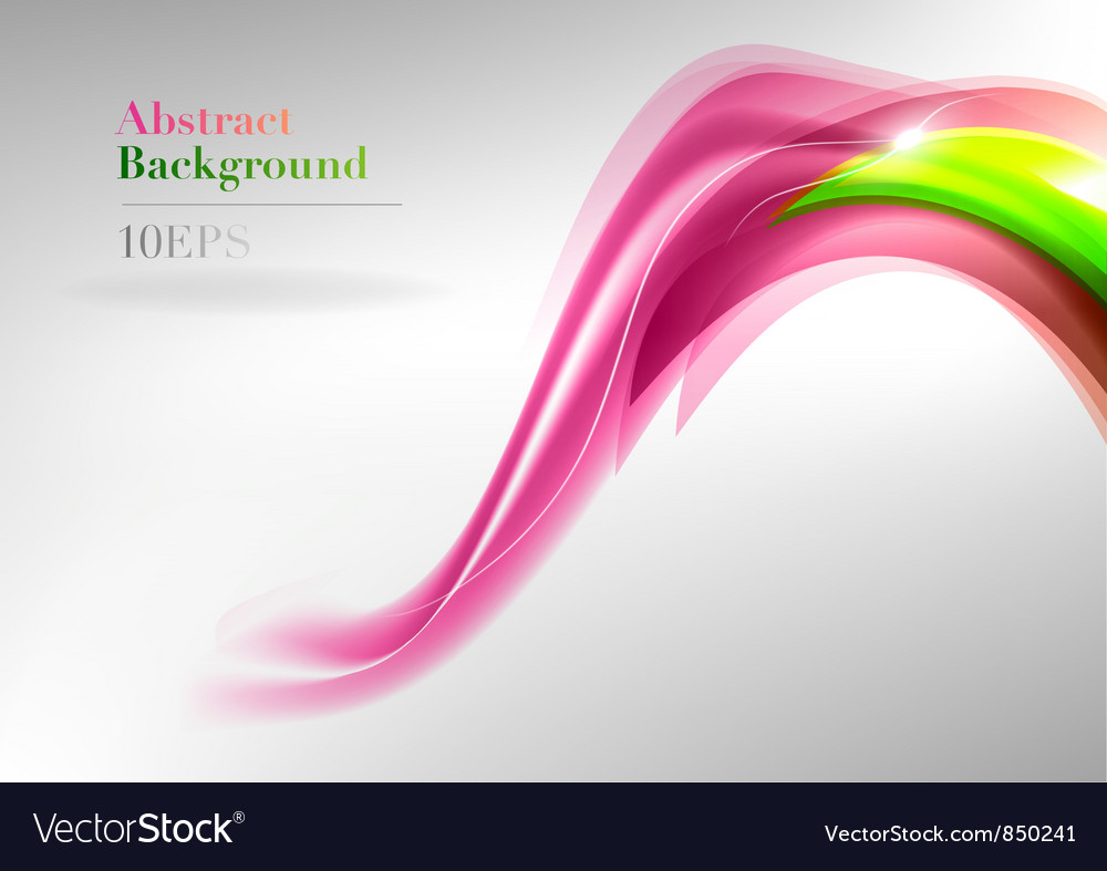 Wave neon light vector | Price: 1 Credit (USD $1)