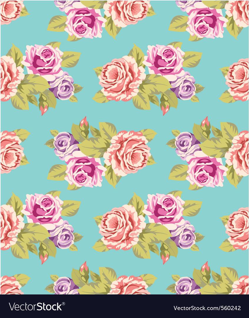 Flower wallpaper vector | Price: 1 Credit (USD $1)