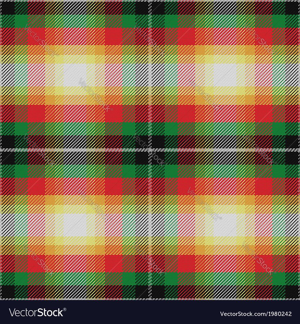Seamless pattern scottish tartan alabama vector | Price: 1 Credit (USD $1)