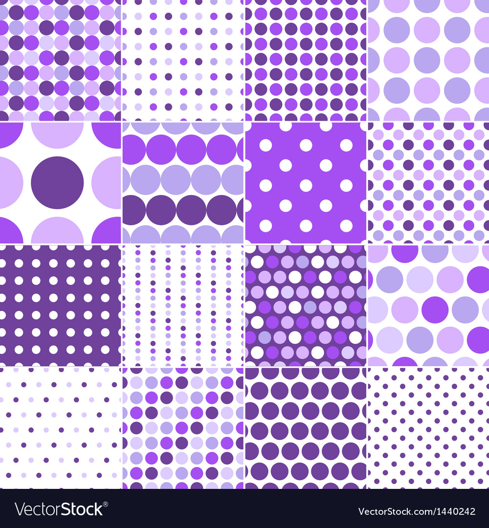 Seamless retro dot pattern print vector | Price: 1 Credit (USD $1)