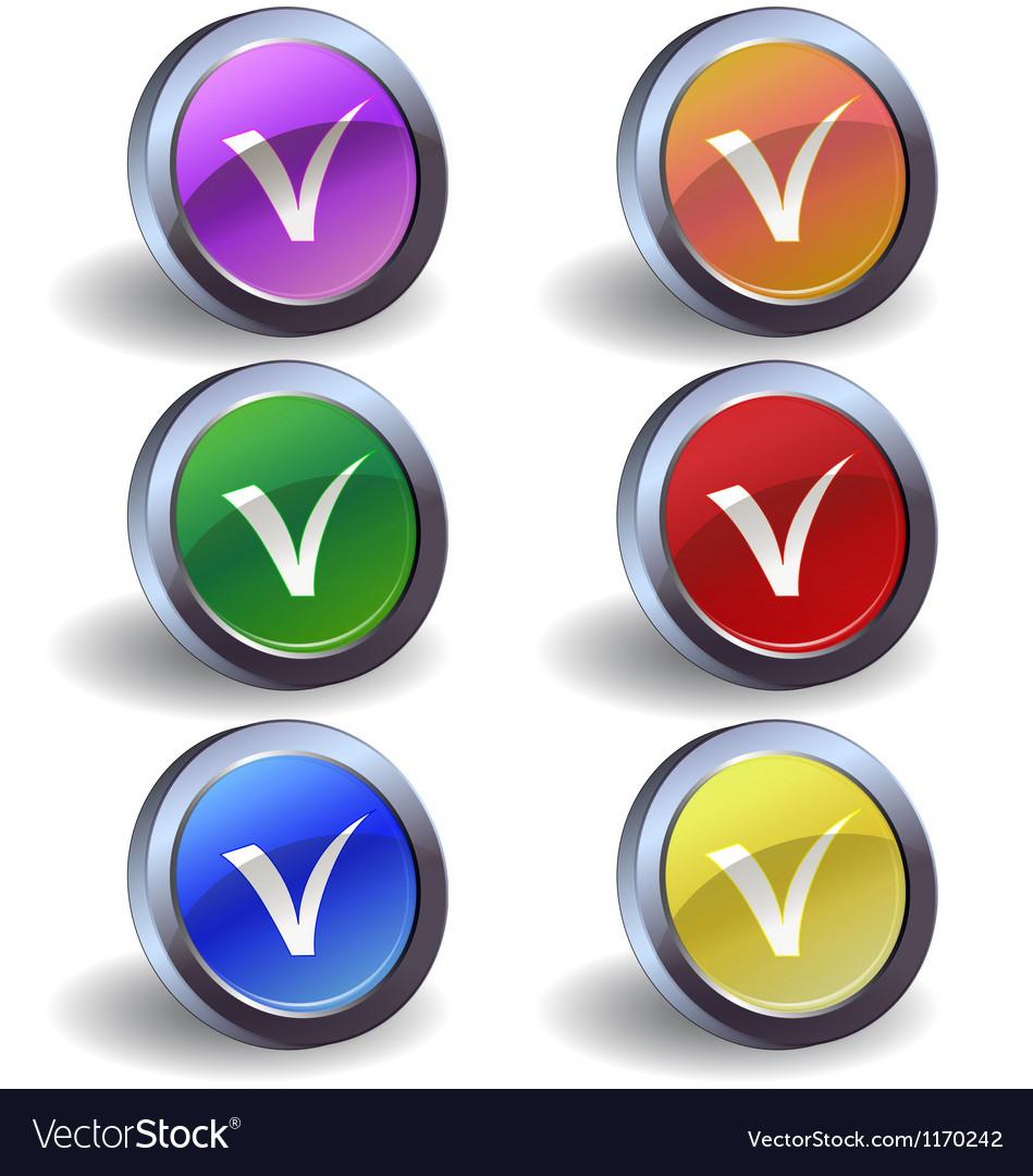 Validation icon vector | Price: 1 Credit (USD $1)