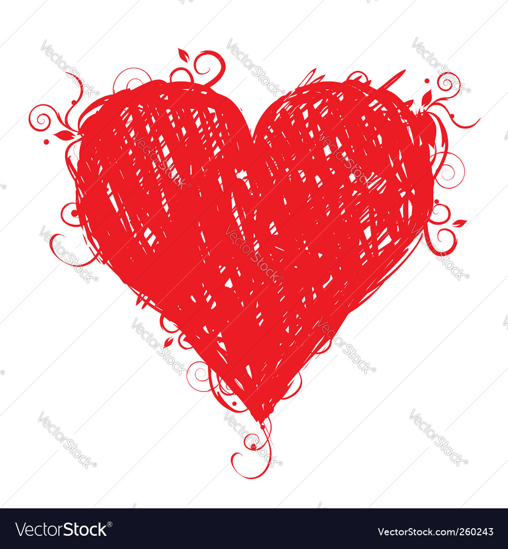 Heart design vector | Price: 1 Credit (USD $1)
