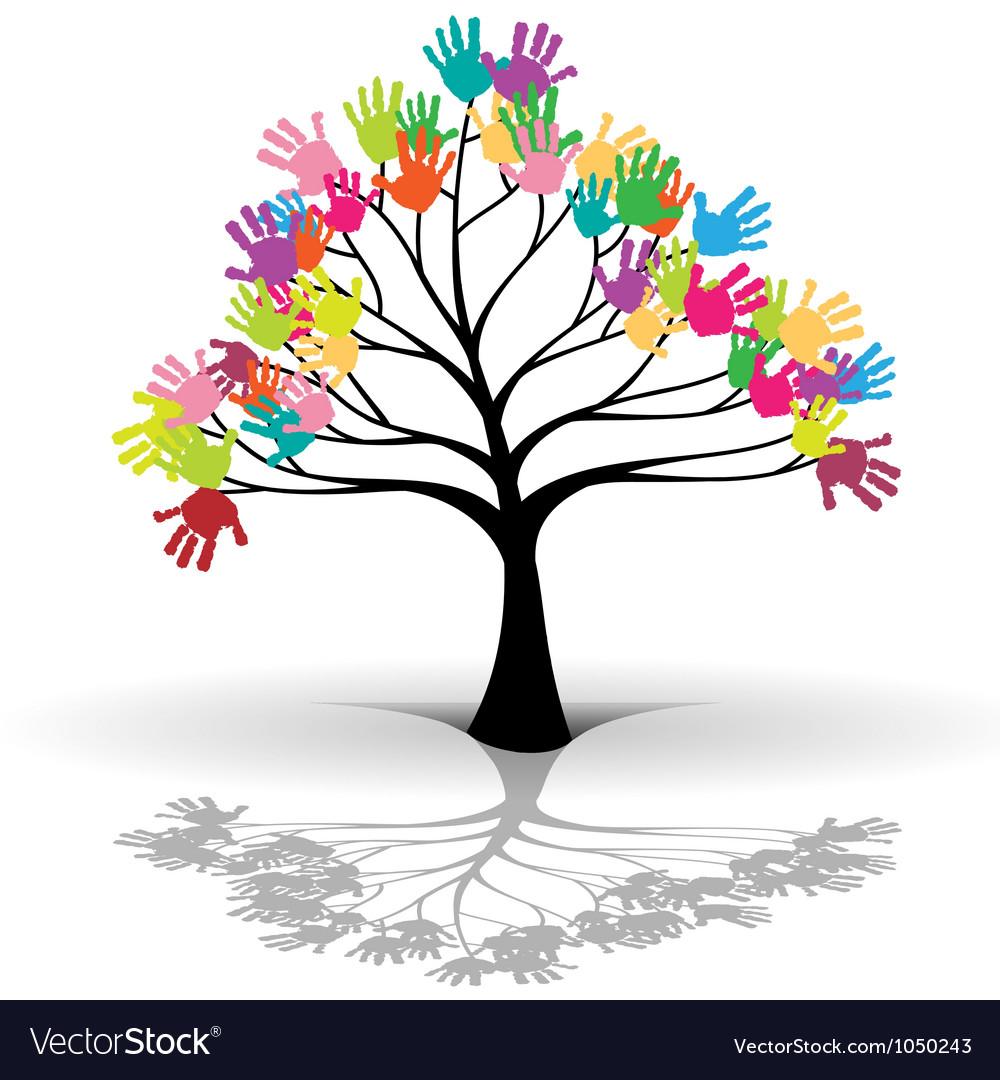Kids tree vector | Price: 1 Credit (USD $1)