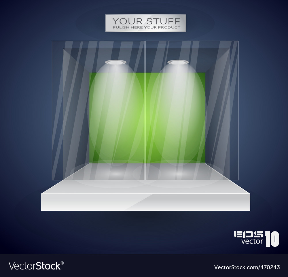 Showroom product vector | Price: 1 Credit (USD $1)