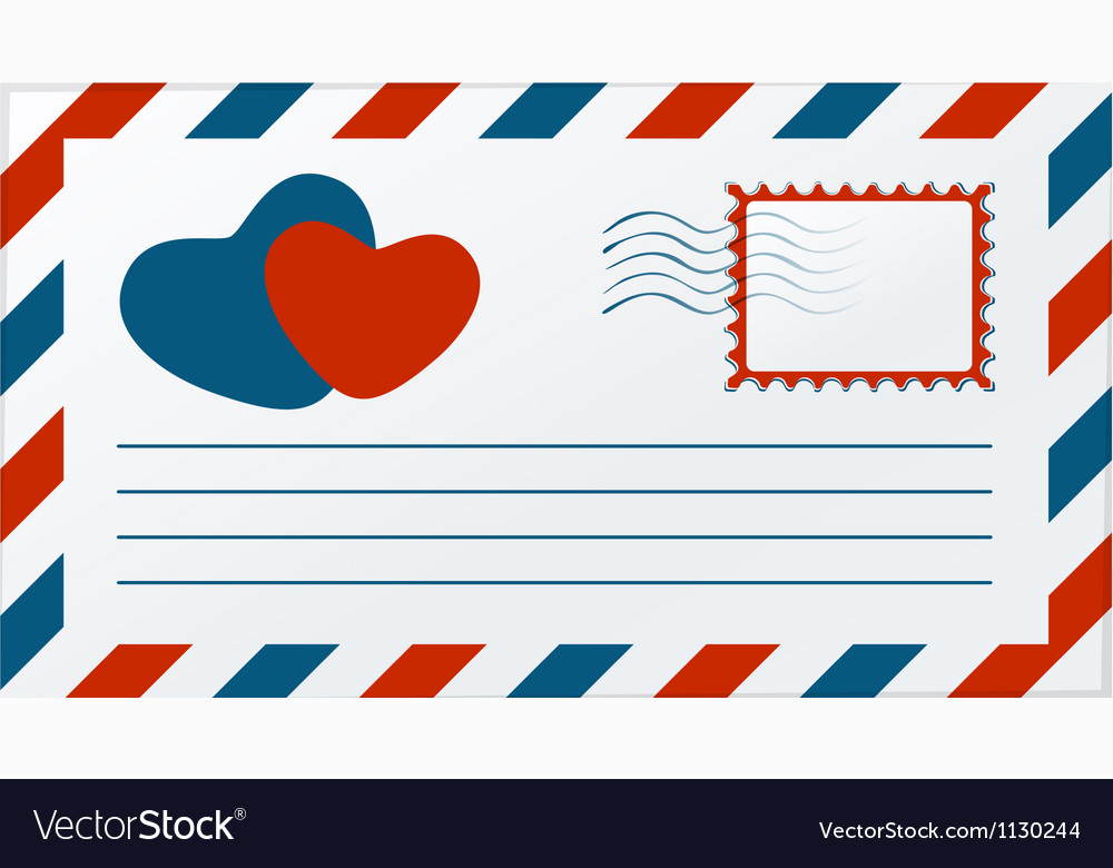 Love letter vector | Price: 1 Credit (USD $1)