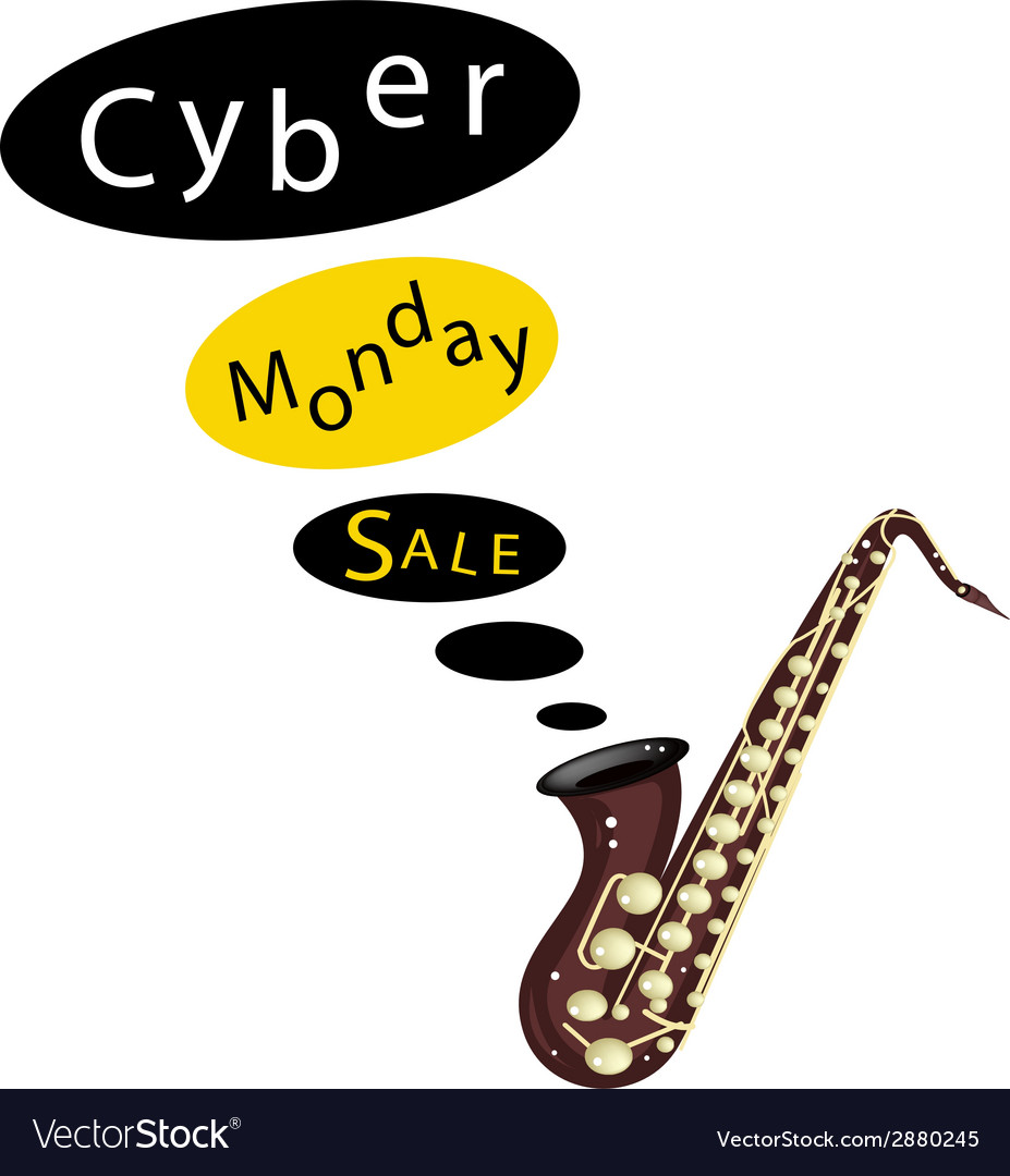 Beautiful guitars background of for cyber monday vector | Price: 1 Credit (USD $1)