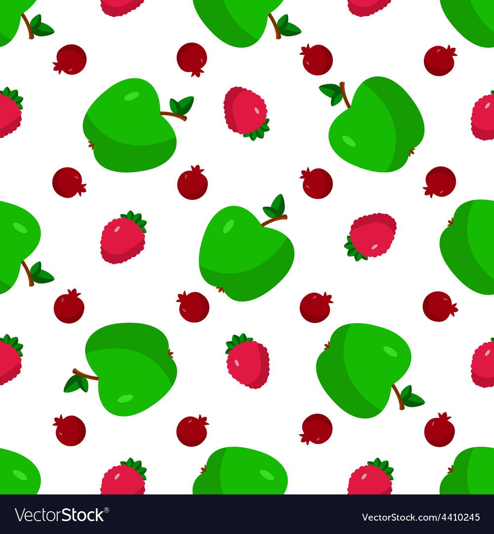 Set of fruits berries vector | Price: 1 Credit (USD $1)