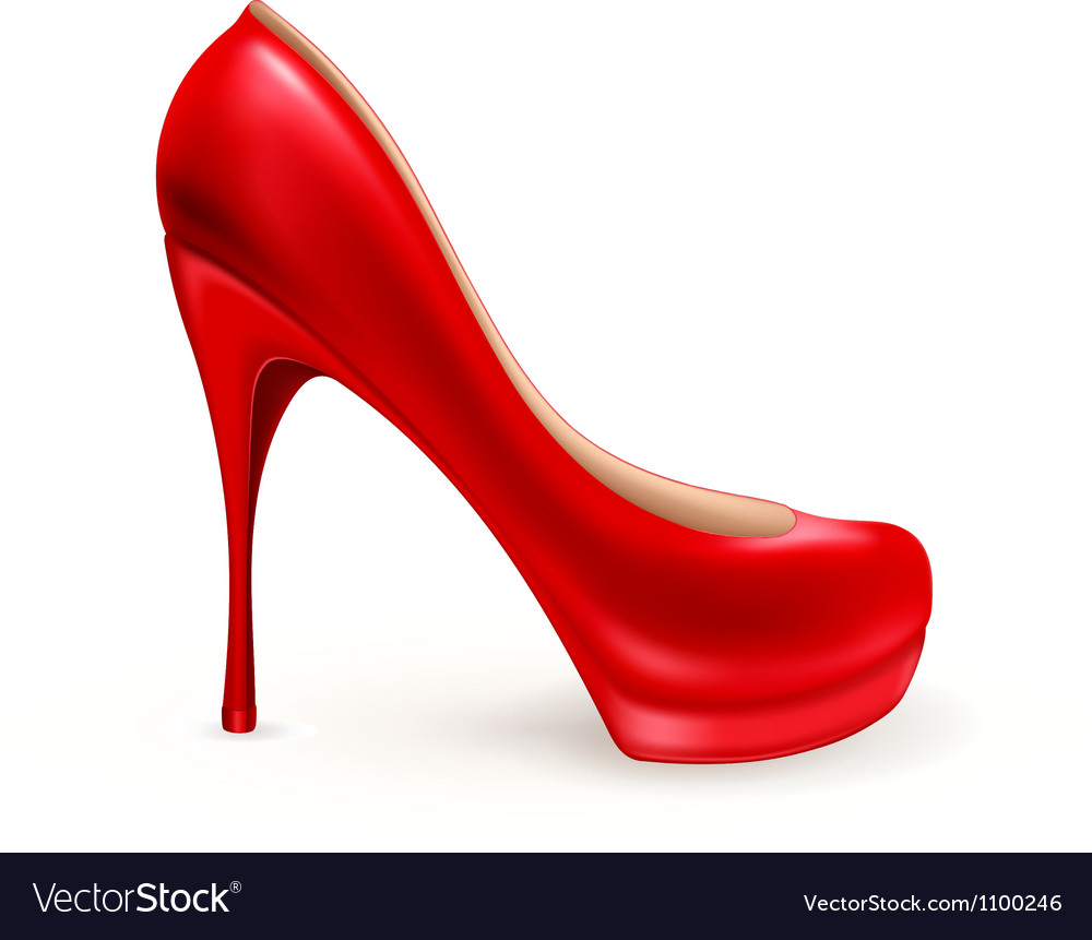 Ladies shoe vector | Price: 1 Credit (USD $1)