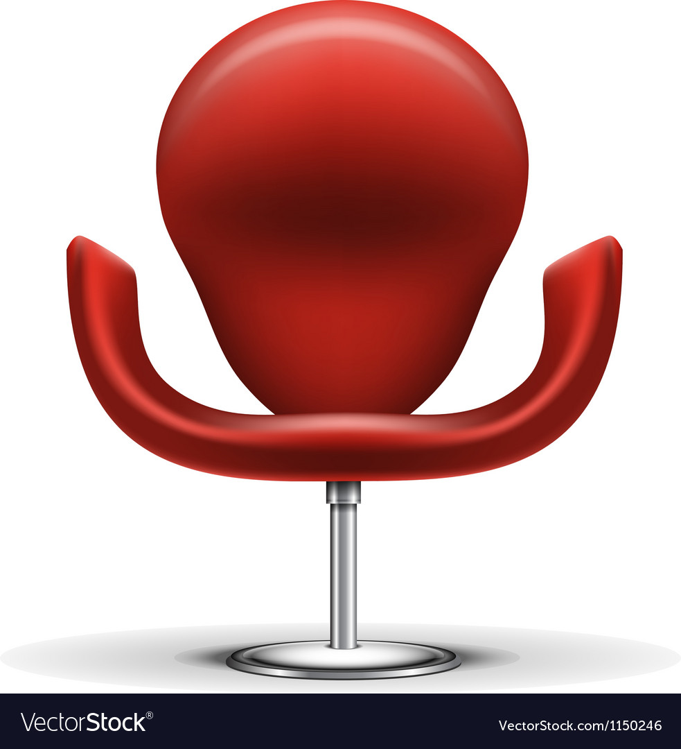 Modern chair vector | Price: 1 Credit (USD $1)