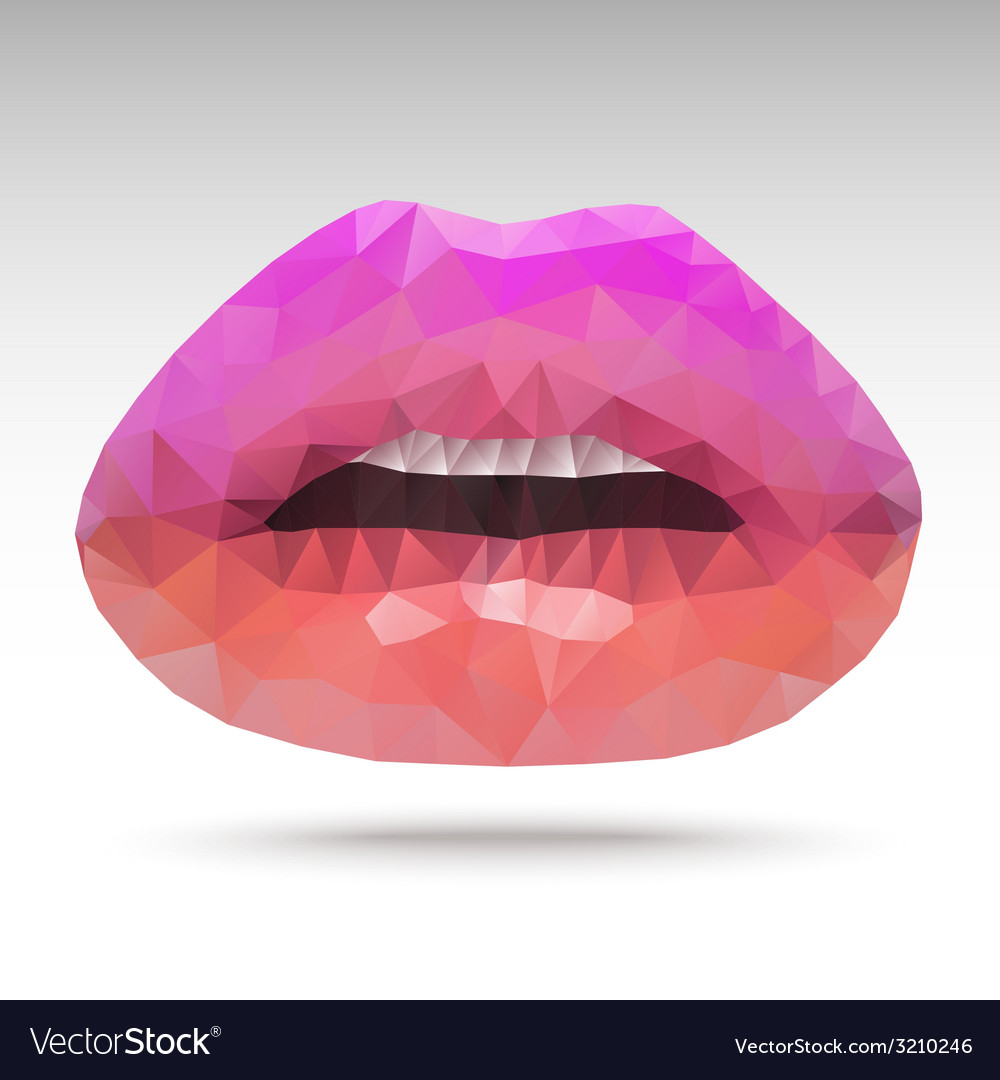 Polygonlip vector | Price: 1 Credit (USD $1)