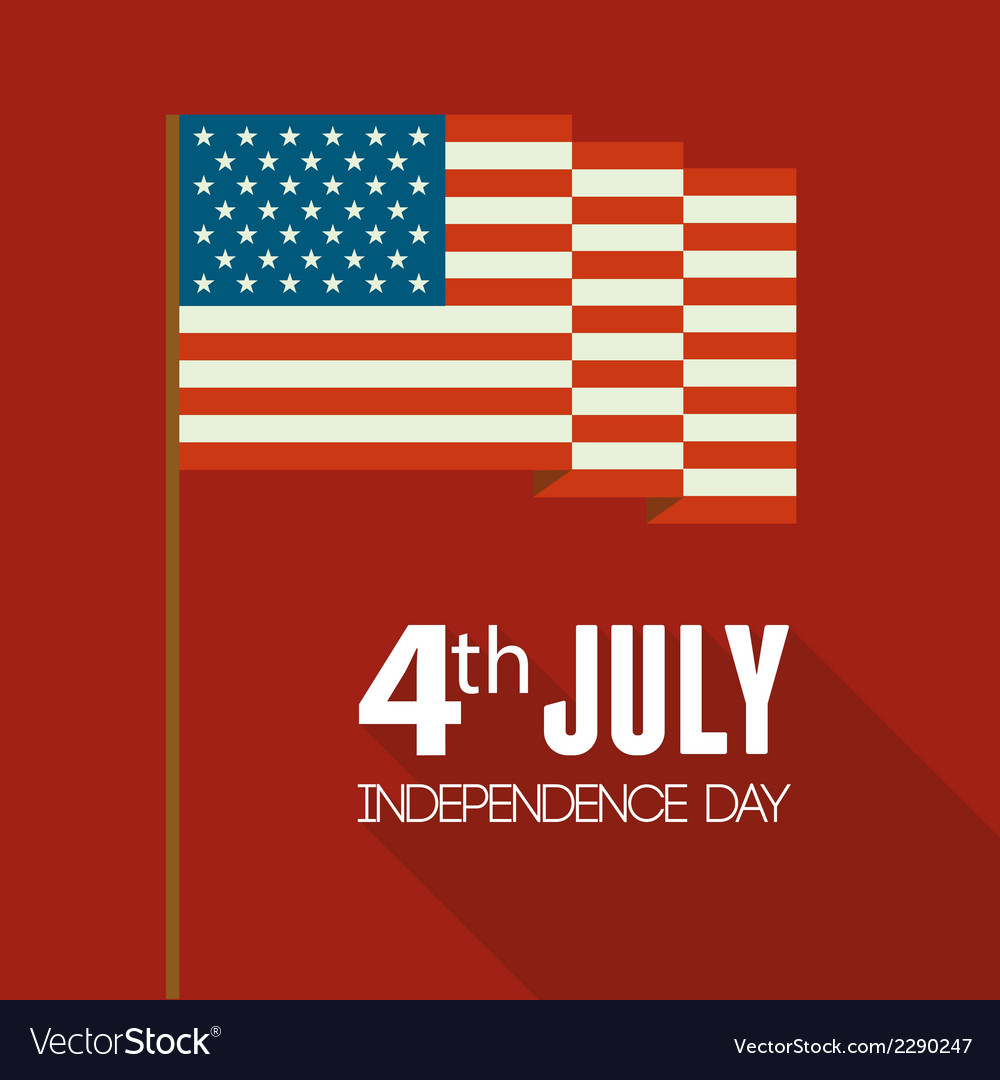 American independence day patriotic background vector   Price: 1 Credit (USD $1)