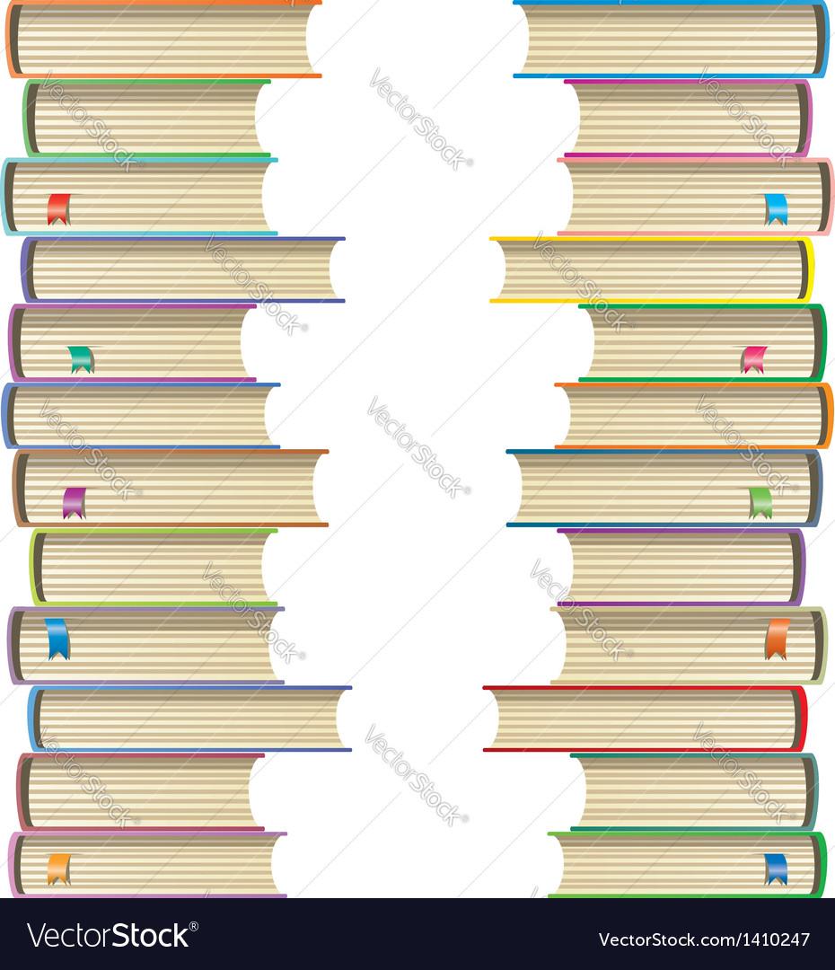 Books vector | Price: 1 Credit (USD $1)